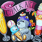 Chalkart Original Bear